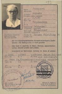 Ausweis Konzentrationäre