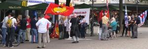Mahnwache am Rudolfplatz
